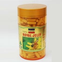 Viên nhộng sữa ong chúa cao cấp royal jelly với hàm lượng 1450 mg, 365 viên