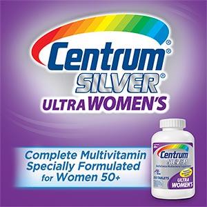 Centrum Silver Ultra Women's 50 Plus đa sinh tố giúp phụ nữ khỏe mạnh