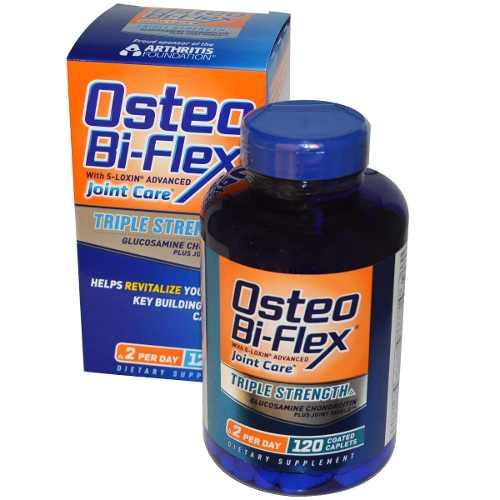 Osteo bi-flex triple strength - thuốc bổ xương khớp và Điều trị các triệu chứng Đau nhức, 120 viên