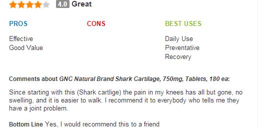 Gnc natural brand shark cartilage 750 mg - thuốc bổ xương hiệu qủa nhất, vi sụn cá mập 180 viên