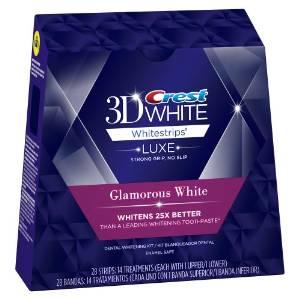 Miếng làm trắng răng thế hệ mới Crest 3D white Advanced Vivid 25x