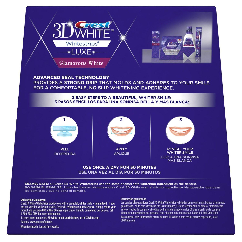 Crest 3D white Advanced Vivid 25x làm trắng răng an toàn và hiệu quả