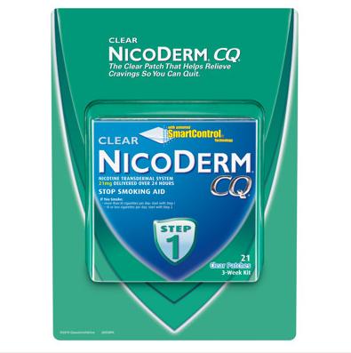 Miếng dán cai thuốc lá Nicoderm CQ được ưu chuộng nhất tại Mỹ và Châu Âu