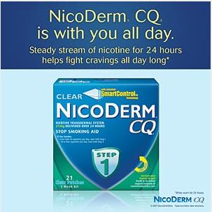 Cai thuốc lá 100% không vật vã với miếng dán Nicoderm CQ