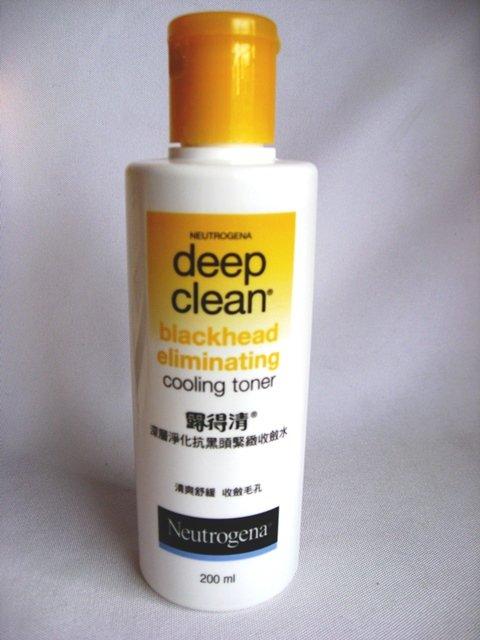 Neutrogena Deep Clean Blackhead Eliminating Cooling Toner 1