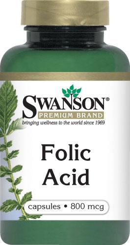Swanson Folic Acid cho sức khỏe phụ nữ trước khi sinh