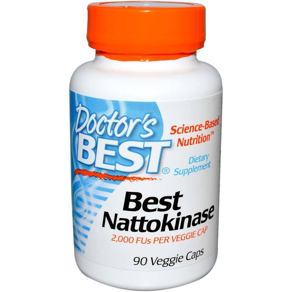 Doctor's best nattokinase 90 viên - thuốc bổ tim mạch và ngăn ngừa Đột qụy