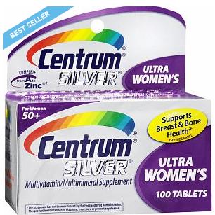 Centrum Silver WomeCentrum Silver Ultra Women's 50 Plus sản phẩm cần thiết cho phụ nữ trưởng thành