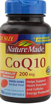 Nature Made CoQ10 thuốc hỗ trợ tim mạch