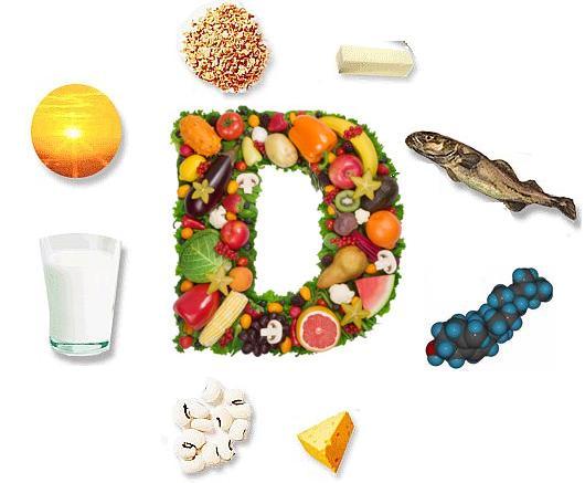 Vitamin D chứa nhiều trong thực phẩm hàng ngày