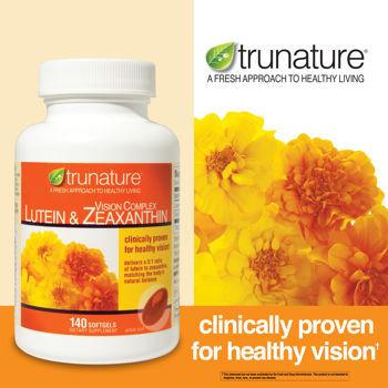 trunature® Vision Complex Lutein & Zeaxanthin giúp cải thiện mắt