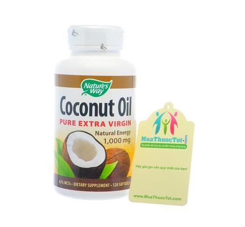 Coconut Oil Pure Extra Virgin bổ sung chất béo lành mạnh