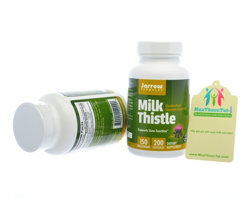 Jarrow Formulas Milk Thistle từ cây kế sữa