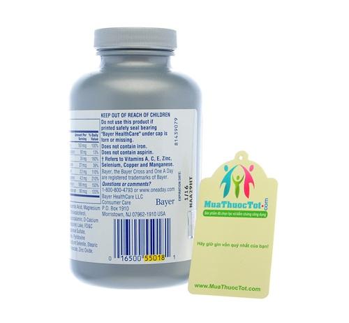One A Day® Women's 50+ Healthy Advantage chính hãng đang được phân phối tại muathuoctot.com