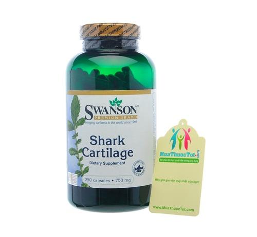 Thành phần Swanson Shark Cartilage