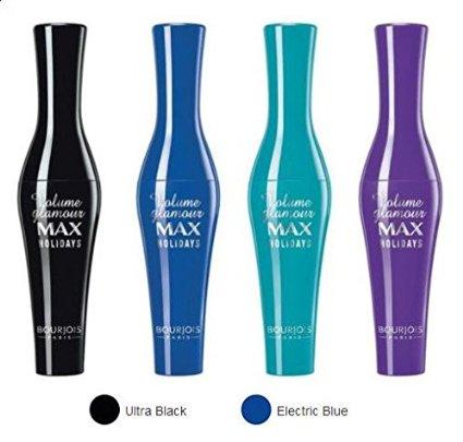 Bourjois Paris Volume Glamour Max Holidays Mascara giúp làm dày, cong mi tự nhiên, đặc biệt không trôi nước từ sáp tự nhiên và ngọc trai đen