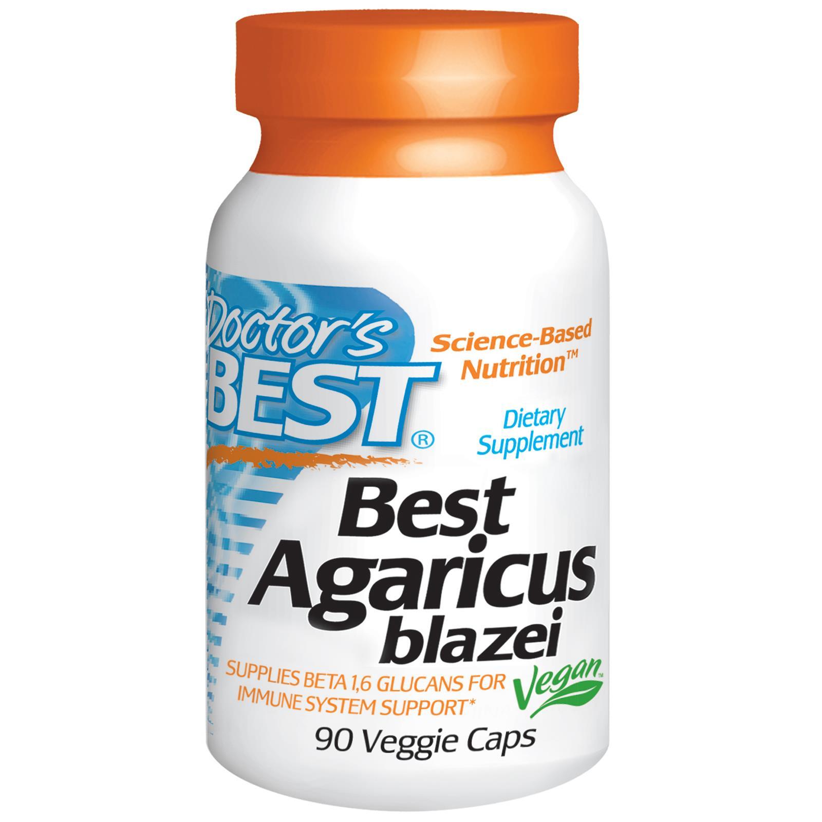 Best Agaricus Blazei Doctors Best thực phẩm chức năng có hoạt chất chống ung thư, hỗ trợ tăng cường hệ miễn dịch