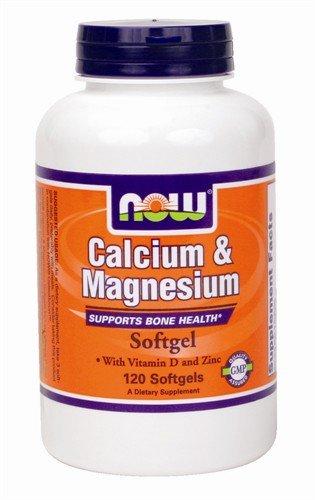 Now foods calcium & magnesium plus vitamin d and zinc – thuốc cung cấp vitamin tốt cho xương khớp, 120 viên