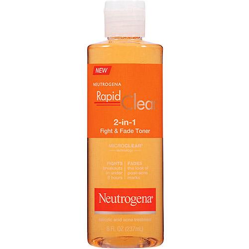 Rapid Clear 2 In 1 Fight & Fade Toner dung dịch trị mụn có tác dụng làm giảm mụn và mờ sẹo