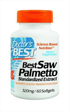 Doctors best best saw palmetto extract – thuốc hỗ trợ điều trị bàng quàng, đường tiết niệu hiệu quả, 320mg, 60 viên