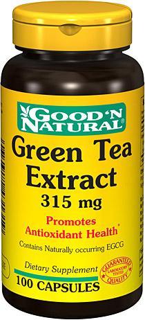 GooDN Natural Green Tea Extract chiết xuất từ trà xanh hổ trợ giảm cân