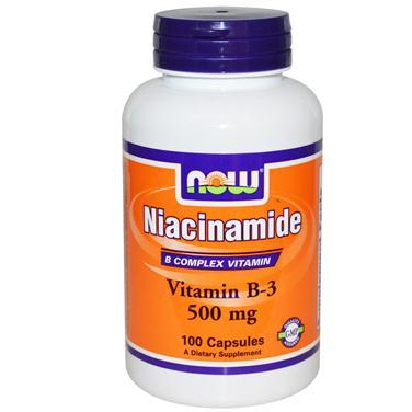 Nowfood niacinamide – thuốc hỗ trợ hệ tim mạch, sức khỏe hệ thần kinh hiệu quả, 100 viên