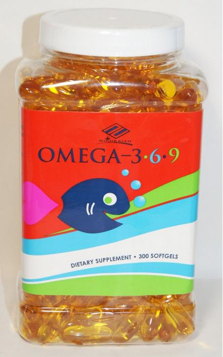 Nu Health  Omega 3,6,9 hỗ trợ phòng ngừa xơ vữa mạch máu và các bệnh tim mạch
