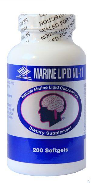NuHealth Marine Lipid Nu- 11 giúp duy trì và hỗ trợ sức khỏe tim mạch
