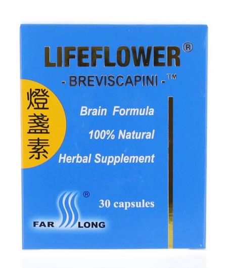 FarLong LifeFlower Breviscapini giúp tăng cường sức khỏe tim mạch, tăng cường tuần hoàn máu não