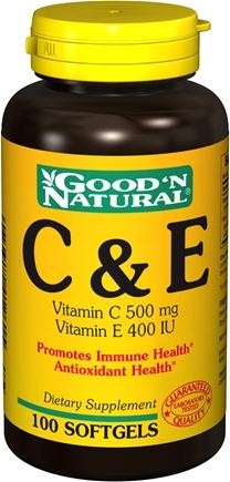 Good'n natural c&e – thuốc bổ sung vitamin c&e giúp chống lão hóa và phòng chống ung thư, 100 viên