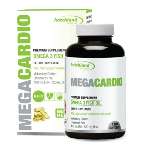 Megacardio omega-3 fish oil