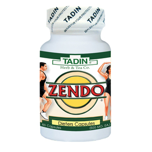Zendo (tadin) thuốc giảm cân chiết xuất từ thảo dược 500mg 60 viên
