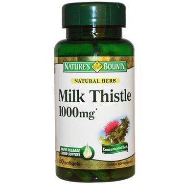 Nature's bounty milk thistle