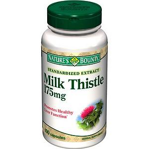 Nature's bounty milk thistle , 175mg– thuốc bảo vệ gan, tăng cường chức năng gan hiệu quả, 100 viên