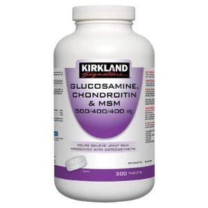 Kirkland Signature Glucosamine, Chondroitin and MSM hôc trợ điều trị các bệnh xương khớp