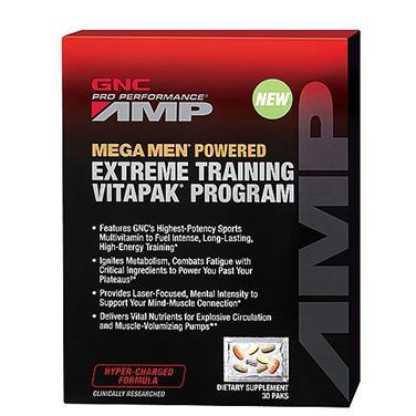 Tác dụng nổi bật của gnc mega men extreme training vitapak