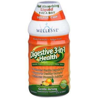 Nước uống wellesse digestive 3-in-1 health