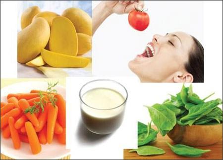 Vitamin và khoáng chất rất cần thiết cho cơ thể nữ giới