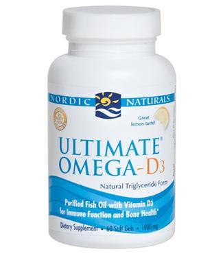 Viên uống bổ sung vitamin d3 nordic natural ultimate omega-d3