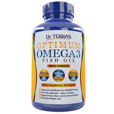 Dr. tobias optimum omega 3 fish oil – dầu cá giúp tăng cường trí não, bảo vệ tim mạch, tăng sức khỏe xương khớp, 90 viên