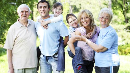 giúp gia đình luôn khỏe mạnh