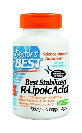Doctor's Best Best Stabilized R-Lipoic Acid