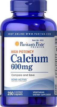 Puritan's Pride Calcium Carbonate 600 mg
