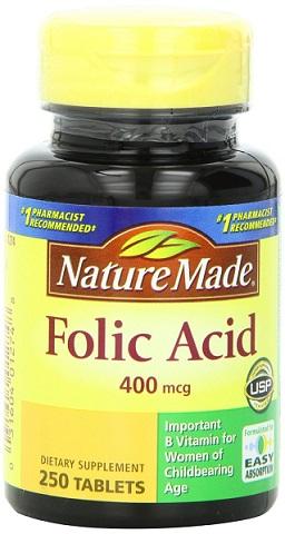 axit folic 60mg