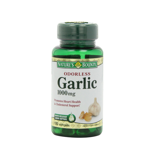 Nature's Bounty Odorless Garlic 1000mg
