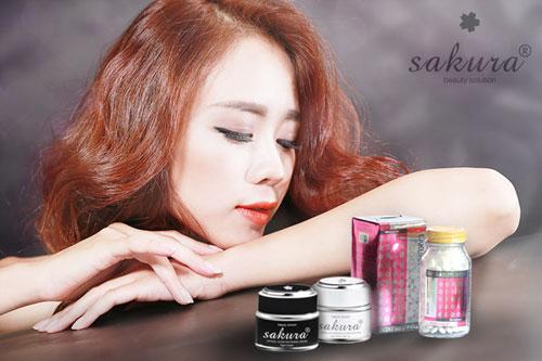 Tác dụng nổi bật của bộ 3 siêu trị nám, tàn nhang trắng da sakura