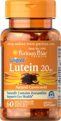 Puritan's pride lutein 20g - thuốc bổ mắt chứa lutein & zeaxanthin chống suy thoái võng mạc và điểm vàng, 60 viên
