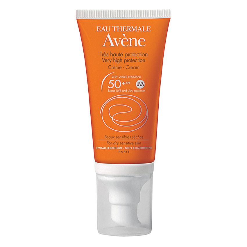 Kem chống nắng cho da khô & nhạy cảm - avène very high protection cream spf50+, 50ml