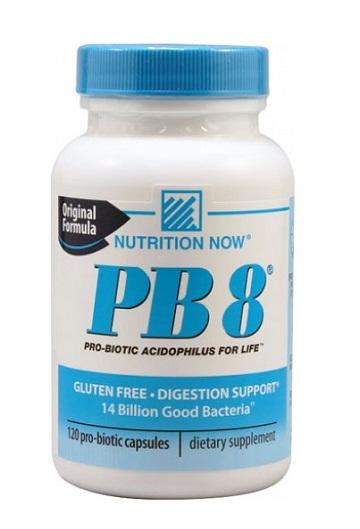 Tpcn hỗ trợ hệ tiêu hóa nutrition now pb 8 pro-biotic acidophilus 120 viên/hộp
