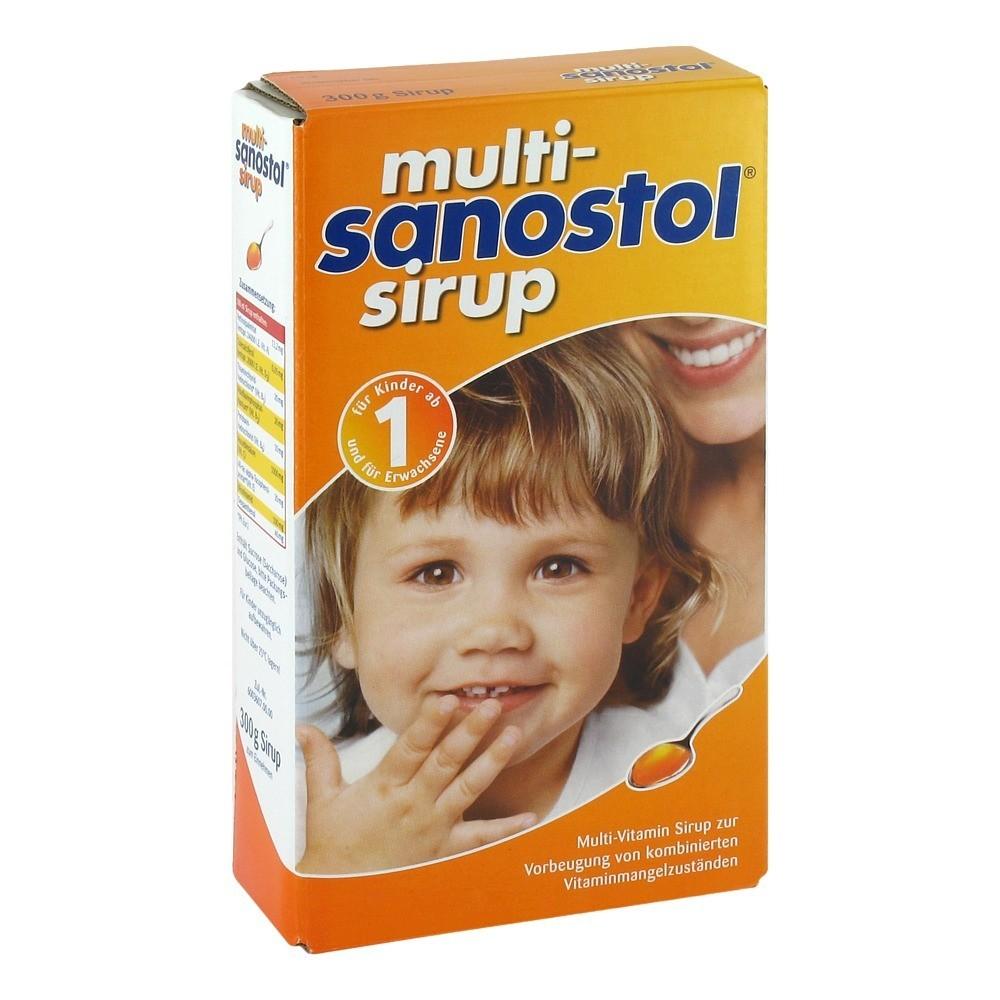 Thức uống bổ dưỡng cho bé vitamin tổng hợp sanostol số 1 300ml của Đức